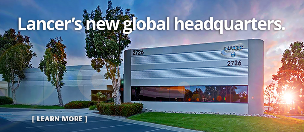 Lancer is proud to unveil our new global headquarters. Learn More.